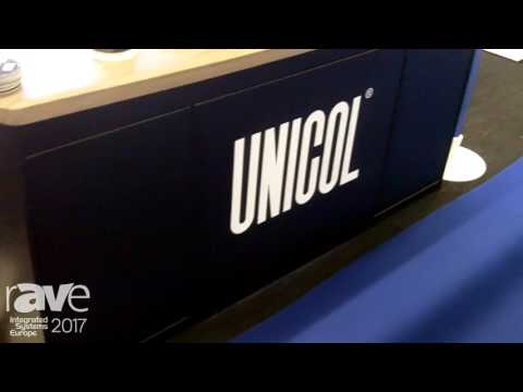 ISE 2017: Unicol Exhibits The Principal Desk Teaching Aid