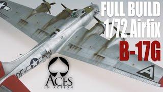 1/72 Airfix B-17 Flying Fortress Model Kit Tutorial Build