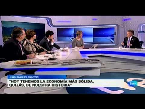 Entrevista al Presidente Juan Manuel Santos en Radiotelevisión Española (RTVE) - 2 de marzo de 2015