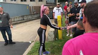 Liv Morgan Autographs WWE Utica 7/6/19