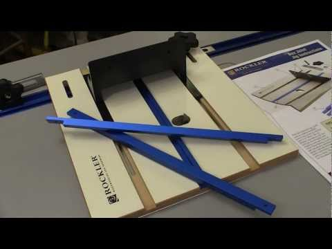Rockler Router Table Box Joint Jig Review by NewWoodworker