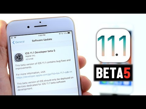iOS 11.1 Beta 5 Why ? | What's New