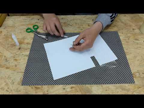 Как сделать самому брелок в виде гос номера