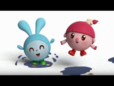 Малышарики. Самокат 17 серия - обучающие мультфильмы для малышей 0-4