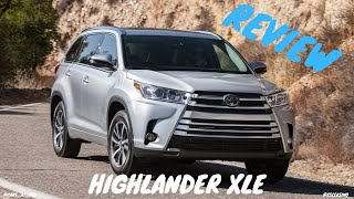 2019 TOYOTA HIGHLANDER XLE -- MOST RELIABLE 3 ROW SUV !