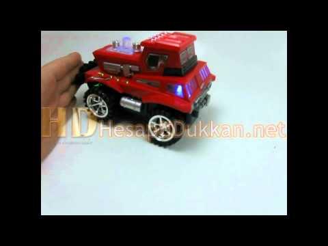 Işıklı müzikli hareketli canavar araba oyuncak www.hesaplidukkan.net