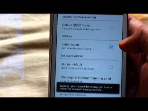 How to Swap External to Internal SD on Galaxy Grand i9082