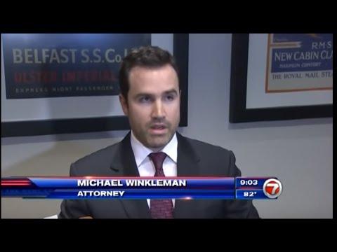 Maritime Attorney Michael Winkleman on 7News: Caribbean Cruise Ship Dispute