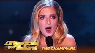 Jackie Evancho SLAYS Her AGT Finale Performance! | AGT Champions