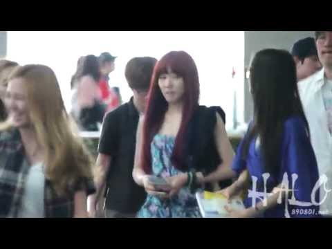 [FANCAM] Tiffany - 120519 (@Airport)