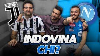 INDOVINA IL CALCIATORE w/ FIUS GAMER vs TATINO 23! JUVENTUS vs NAPOLI - QUIZ SUL CALCIO 2018