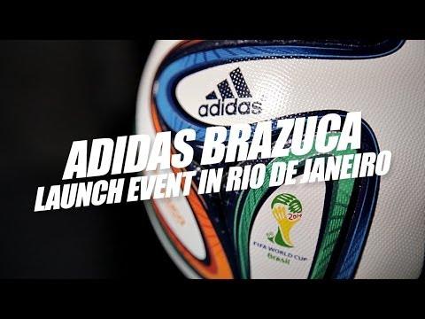 Adidas Brazuca Launch Event in Rio de Janeiro