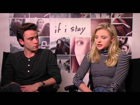 If I Stay: Chloe Grace Moretz & Jamie Blackley Official Movie Interview