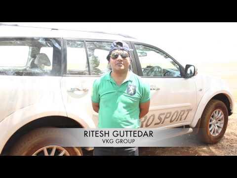 Pajero Sport Media Drive @ Vijayachandra Motors Mar'15