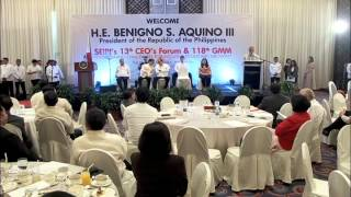 13th CEO's Forum and 118th General Membership Meeting of SEIPI 10/28/2014