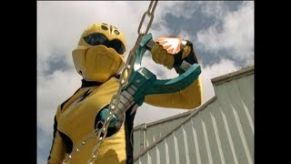 Power Rangers Jungle Fury - Way of the Master - Yellow Ranger and the Jungle Mace (Episode 8)