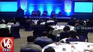 CII Summit Begins In HICC | Discussed Over Digital Technology | Hyderabad | V6 News