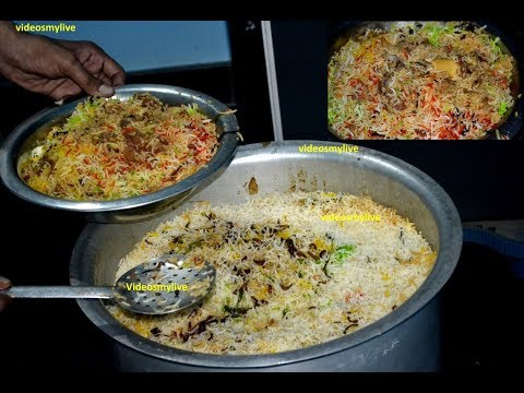 Indian Ramzan Iftar DUM BIRYANI Muslim Preparation for 20 People & STREET FOOD