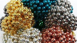 4800 Magnetic Balls Sculpture, a Ball of Balls of Neoballs