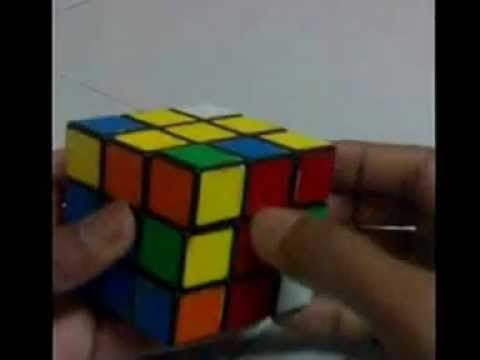 Solving Rubik's Cube Fast Using Fridrich F2l Method In Malayalam.3gp video