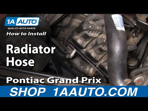 How To Install Replace Lower Radiator Hose Grand Prix Regal Lumina Monte Carlo V6 96-05 1AAuto.com