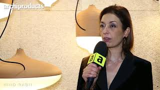 IMM Cologne 2018 | HIND RABII - Hind Rabii talks about the lamps T-Cotta, Fico and Meridiana
