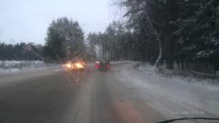 ДТП на трассе Дзержинск - Ильино