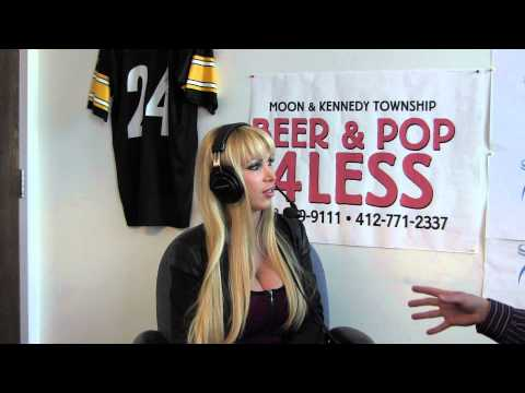 Nikki Benz Live In-studio video