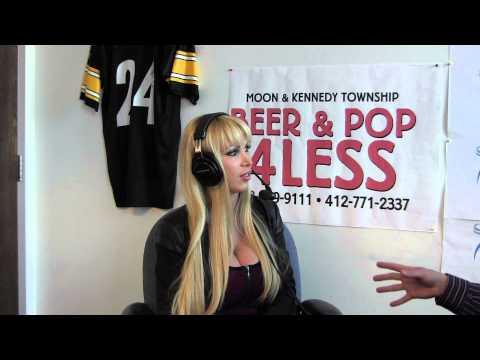 Nikki Benz Live In-studio video