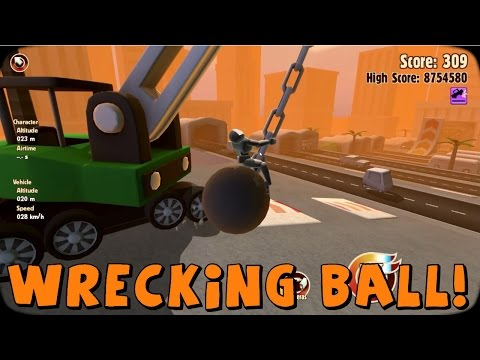 Turbo Dismount | 2 New Vehicles! Bulldozer and Wrecking Ball!
