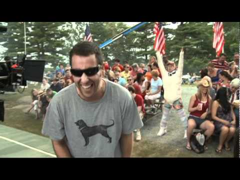 Behind the Scenes of GROWN UPS with Adam Sandler!