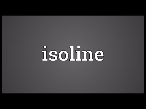 Header of isoline