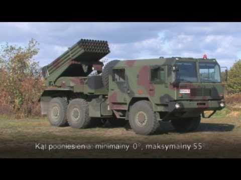 Wr 40 Langusta Multiple Rocket Launcher System Jelcz Truck