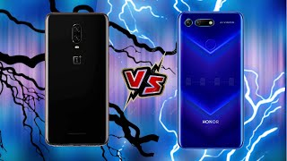 ONEPLUS 6T VS HONOR VIEW 20 SPEED TEST ...(PUBG, ASPHAULT 9)
