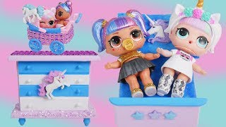 Lol Fake Bedroom Toys With Custom Unicorn Surprise Doll Hairgoals Series 5 Boy