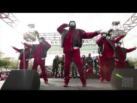 Jabbawockeez At Las Vegas Santa Run 2012 video