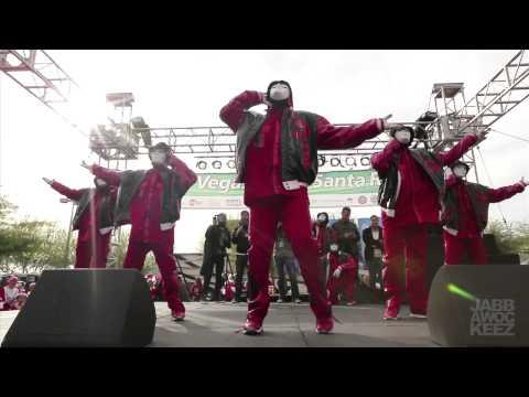 Jabbawockeez At Las Vegas Santa Run 2012 video