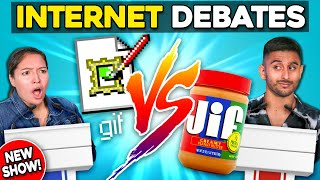 Gif Vs. Jif | Settling The Internet's Biggest Debates