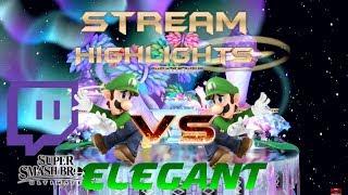 Super Smash Bros Ultimate- Lode vs Elegant Luigi Ditto