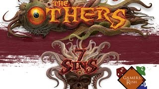 Kickstarter The Others: 7 Sins Unboxing!