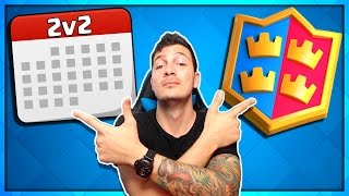"Clash Royale ""2v2 MONTH UPDATE"" Easter Egg / Hint!"