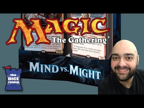 Magic: The Gathering - Mind vs. Might (Duel Decks) Review - with Zee Garcia