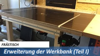 Frästisch (Teil 1) - how to build a router table