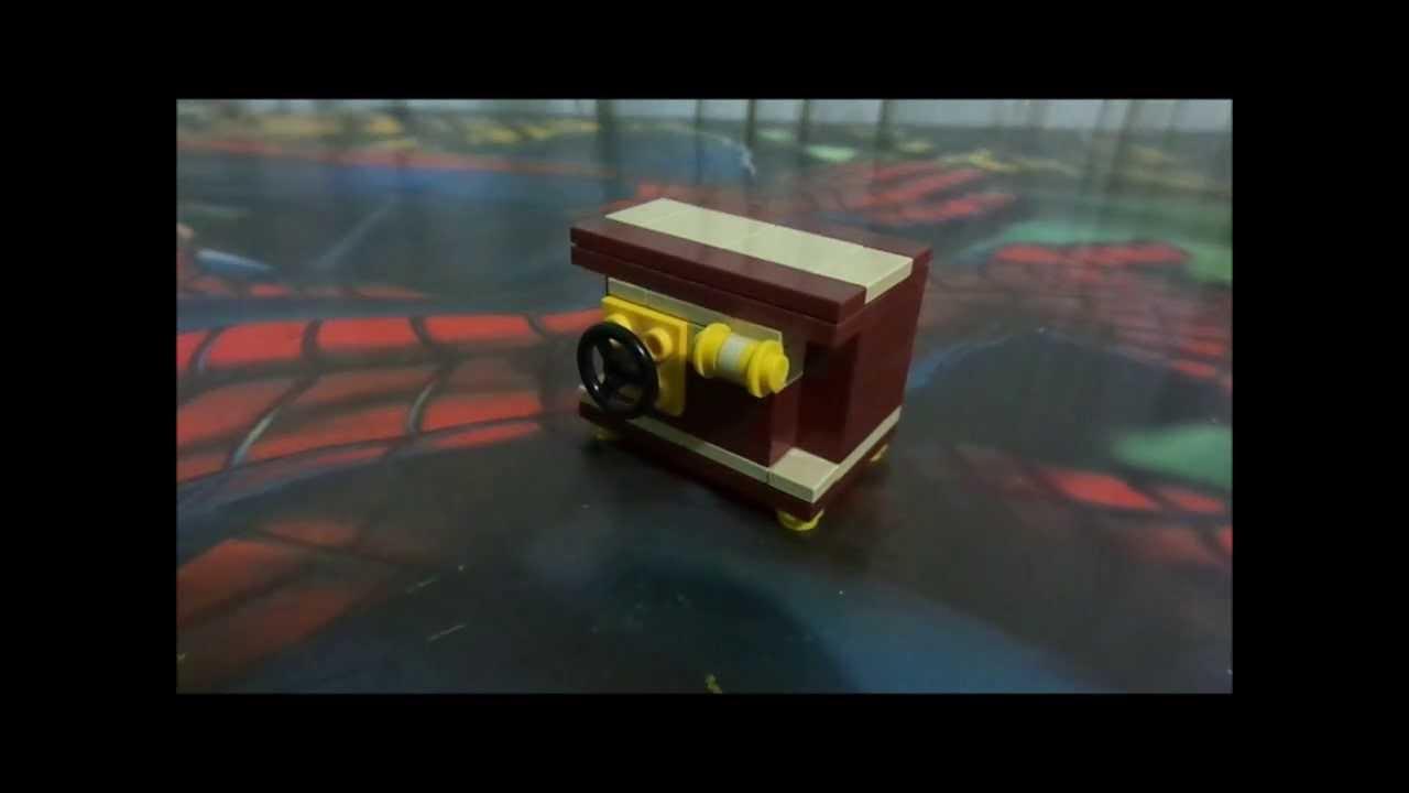 Como hacer una caja fuerte lego mr p youtube - Como hacer una caja ...