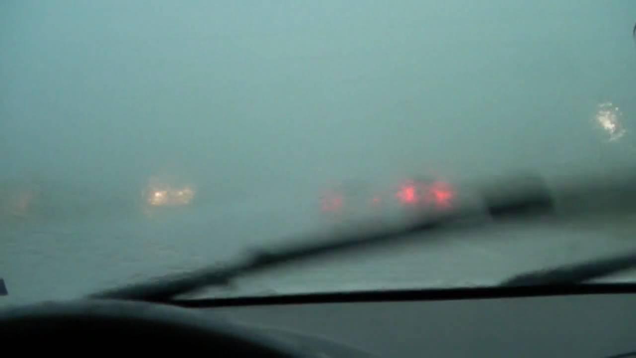 driving   heavy rain storm youtube