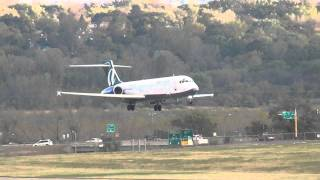 AirTran Boeing 717-2BD Landing 30L | N956AT | Minneapolis International Airport