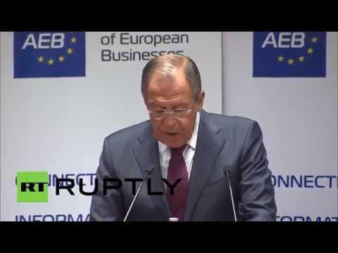 Russia: 'EU risks €40bn loss from Russia sanctions in 2014' – Foreign Minister FM Lavrov