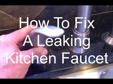 Fix a Leaking Kitchen Faucet