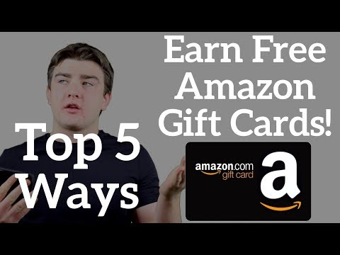 Top 5 Ways to Get Free Amazon Gift Cards - April 2018
