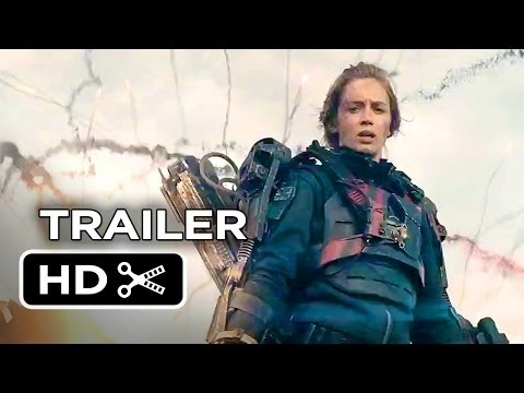 Edge Of Tomorrow TRAILER 2 (2014) - Emily Blunt, Tom Cruise Sci-Fi Movie HD